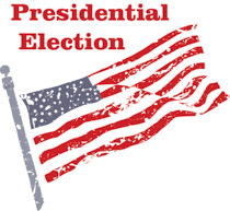 American Flag Presidential Election education policy
